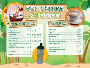Softdrinks & Heisse Getränke