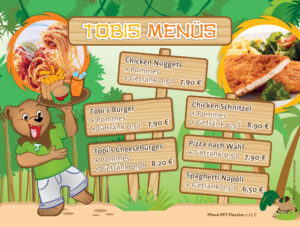 Tobis Menü